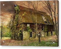 The Abandoned Barn Acrylic Print