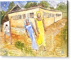 The Abducted Girls Of Chibok Acrylic Print