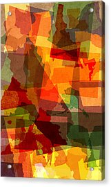 The Abstract States Of America Acrylic Print by Design Turnpike