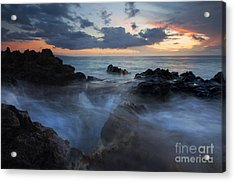 The Abyss Acrylic Print by Mike  Dawson