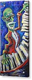 The Acid Jazz Jam Piano Acrylic Print by Jason Gluskin