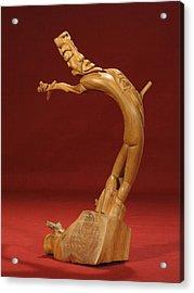 The Acrobat Acrylic Print by Pimba