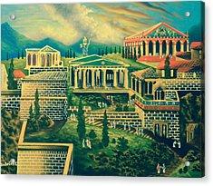 The Acropolis Acrylic Print