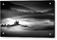 The Addams Family Land Acrylic Print