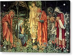 The Adoration Of The Kings Acrylic Print by Bradley Skeen