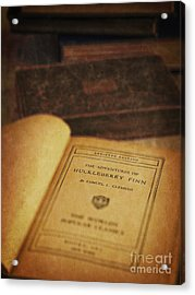 The Adventures Of Huckleberry Finn Acrylic Print