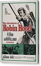 The Adventures Of Robin Hood B Acrylic Print