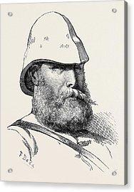 The Afghan War Major J.j Acrylic Print
