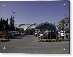 The Airport In Srinagar The Capital Of Jammu And Kashmir Acrylic Print by Ashish Agarwal