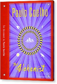 The Alchemist Book Cover Poster Art 2 Acrylic Print by Nishanth Gopinathan