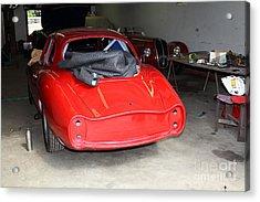 The Alfa Romeo Garage 5d25290 Acrylic Print by Wingsdomain Art and Photography