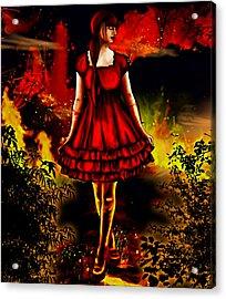The Alice Girl Acrylic Print