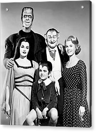 The All American Munsters Family Acrylic Print