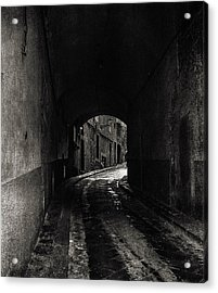 The Alley  Acrylic Print by Steven  Taylor