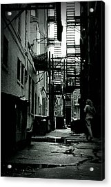 The Alleyway Acrylic Print by Michelle Calkins