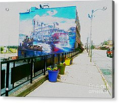 the Alton Belle in Fresco Acrylic Print
