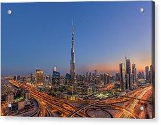 The Amazing Burj Khalifah Acrylic Print