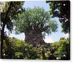 The Amazing Tree Of Life  Acrylic Print by Lingfai Leung