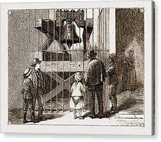 The American Centennial Exhibition, 1876 Liberty Bell Acrylic Print