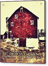 The American Experience Acrylic Print by H James Hoff