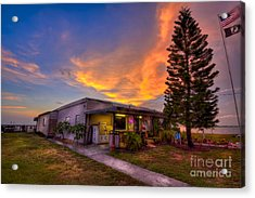 The American Legion Acrylic Print by Marvin Spates