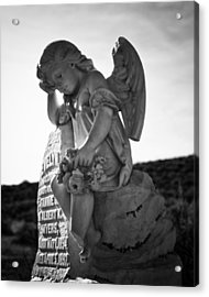 The Angel Of Bodie Acrylic Print by Troy Montemayor