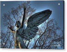 The Angel Of Dusk Acrylic Print