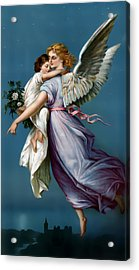 The Angel Of Peace For I Phone Acrylic Print by Terry Reynoldson