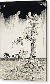 The Animals You Know Are Not As They Are Now Acrylic Print by Arthur Rackham