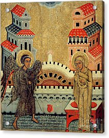 The Annunciation Acrylic Print by Fedusko of Sambor