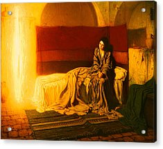 The Annunciation Acrylic Print by Mountain Dreams