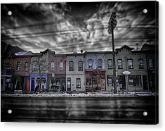 Acrylic Print featuring the photograph The Answers You Seek Will Never Be Found At Home by Russell Styles