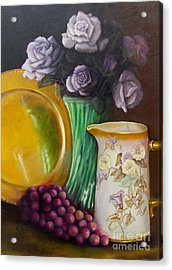 The Antique Pitcher Acrylic Print by Marlene Book
