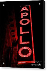 The Apollo Acrylic Print by Ed Weidman