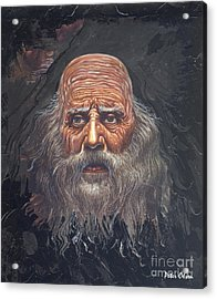 The Apostle John Acrylic Print by Peter Olsen
