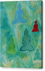 Buddhas Appear Acrylic Print