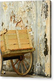 The Apple Cart Acrylic Print
