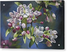 Acrylic Print featuring the painting The Apple Tree by Alecia Underhill