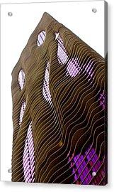The Aqua Acrylic Print by Greg Thiemeyer