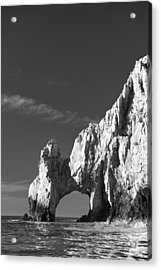The Arch In Black And White Acrylic Print