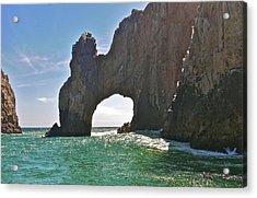 The Arch Lands End Cabo San Lucas  Acrylic Print by Jennifer Lamanca Kaufman
