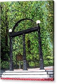 The Arch At Uga Acrylic Print
