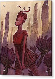 The Archer Acrylic Print by Ethan Harris