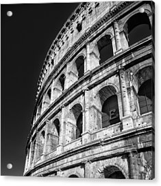 Acrylic Print featuring the photograph The Arena by Brad Brizek