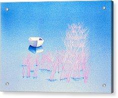 The Arrival Acrylic Print by Daniele Zambardi