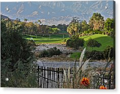 The Arroyo In Rancho Mirage Acrylic Print by Kirsten Giving