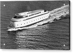 The Art Deco Ferry Kalakala Acrylic Print