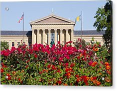 The Art Museum In Summer Acrylic Print by Bill Cannon