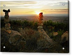 The Art Of Cairns Acrylic Print by Christine Till