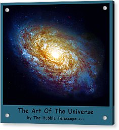 The Art Of The Universe 301 Acrylic Print by The Hubble Telescope